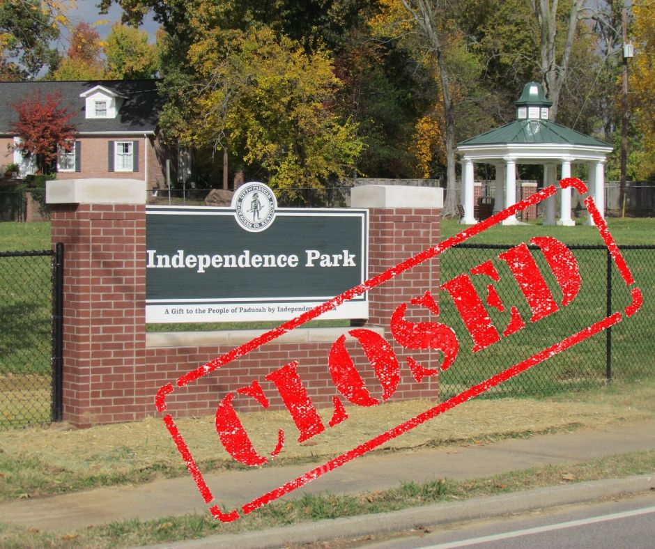Independence Park closed