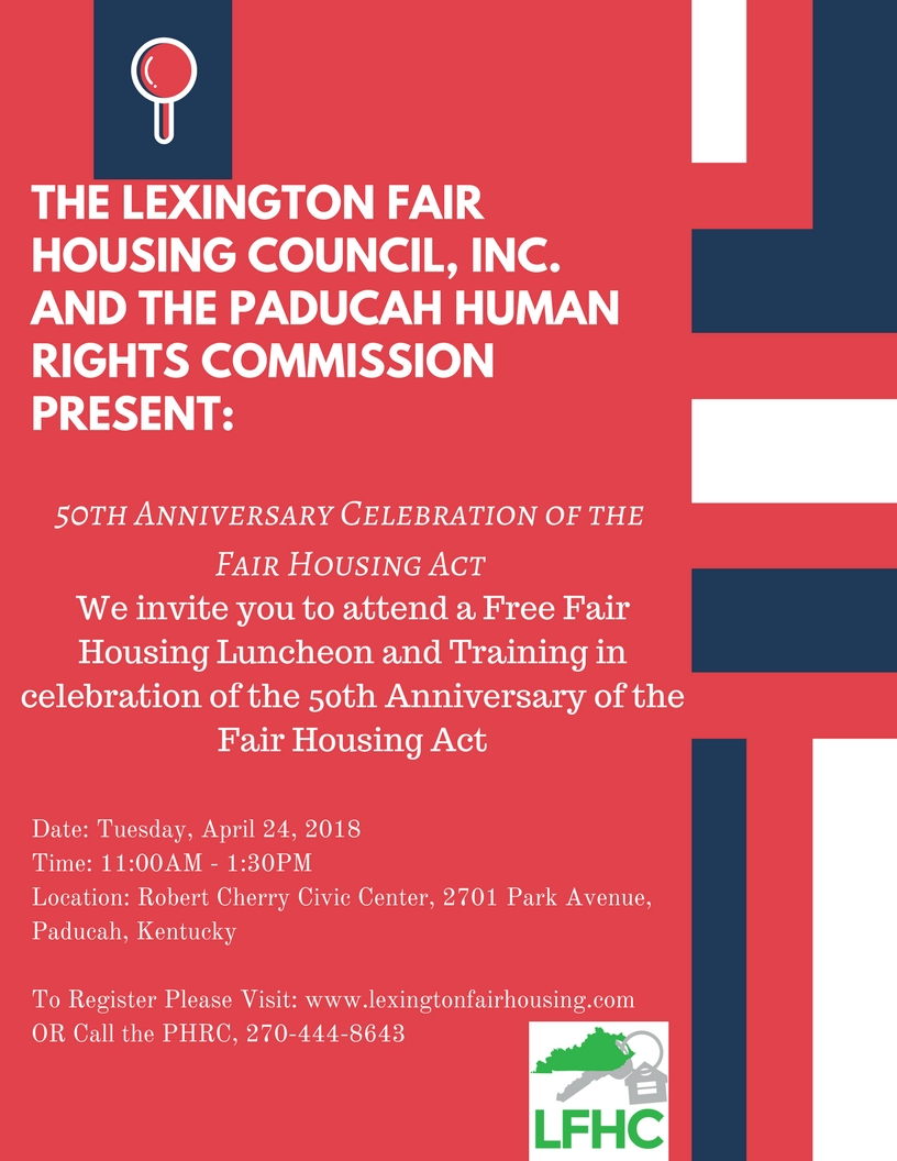 2018 Fair Housing Luncheon
