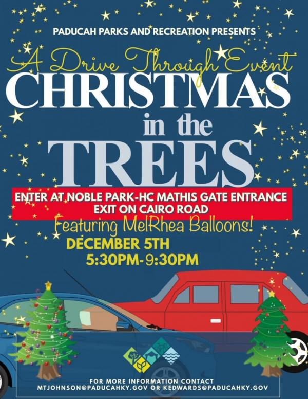 2020 Christmas in the Trees   Parade of Floats | City of Paducah