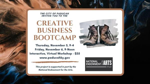 Creative Business Bootcamp graphic
