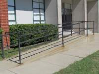 Civic Center Accessible Ramp