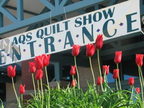 Entrance to Quilt Show