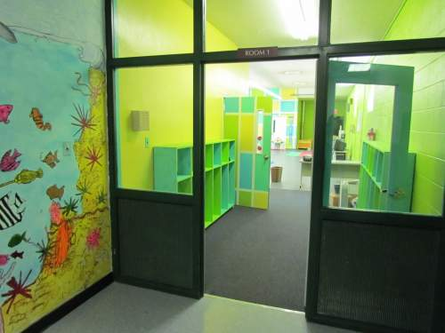 Entrance to Tot School Classroom