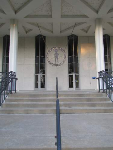 City Hall entrance