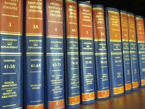 Kentucky Revised Statutes books