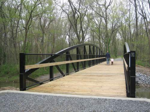 Greenway Trail bridge